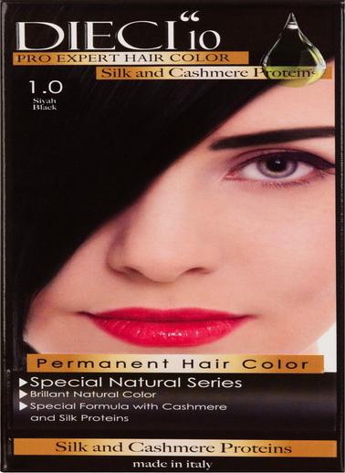 Dıecı Dıecı 10 Eko Kit Saç Boyası 1,0 Siyah Siyah